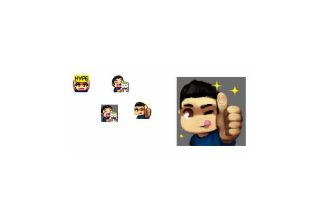 Lirik twitch emotes firefox