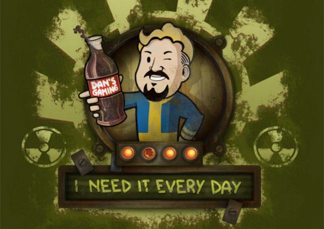 DansGaming Prepares for Fallout 4 With Fallout Themed Twitch Emotes