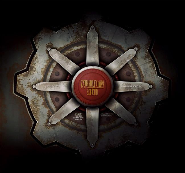 Fallout Vault Door julia cassian creates fallout inspired cohhilition vault door