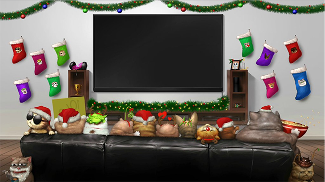 Geers Art Creates LIRIK A Holiday Intermission Screen