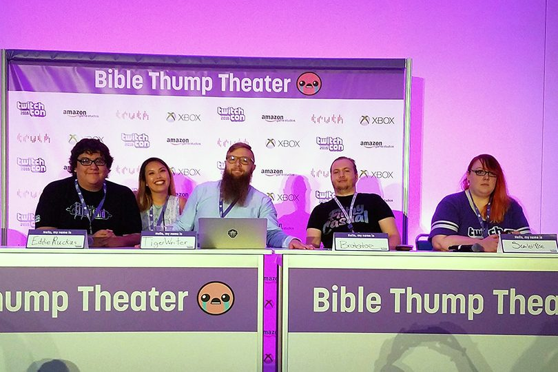 TwitchCon 2016 Day 2 – Mental Health and Streaming – Streamer News