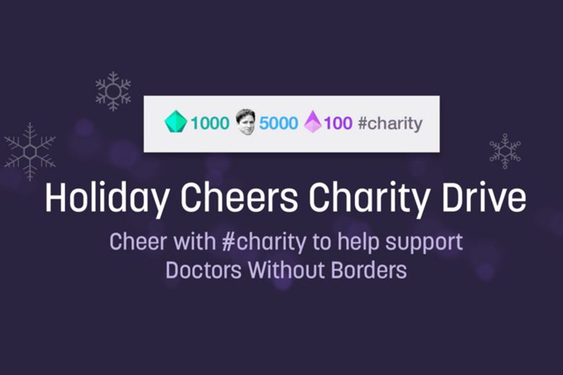 From December 21st Through The 29th Twitch Ran A Special Campaign In An Effort To Support Doctors Without Borders Charity